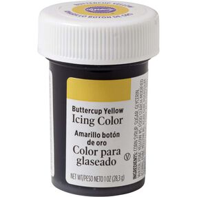 Buttercup Yellow Gel Food Coloring Icing Color